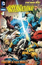 Justice League International Annual (2012-) #1
