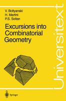 Excursions into Combinatorial Geometry PDF