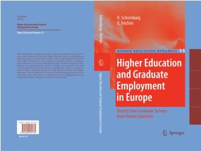 Higher Education and Graduate Employment in Europe PDF