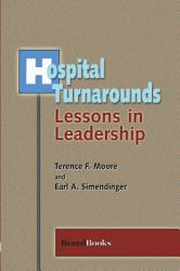 Hospital Turnarounds Book PDF