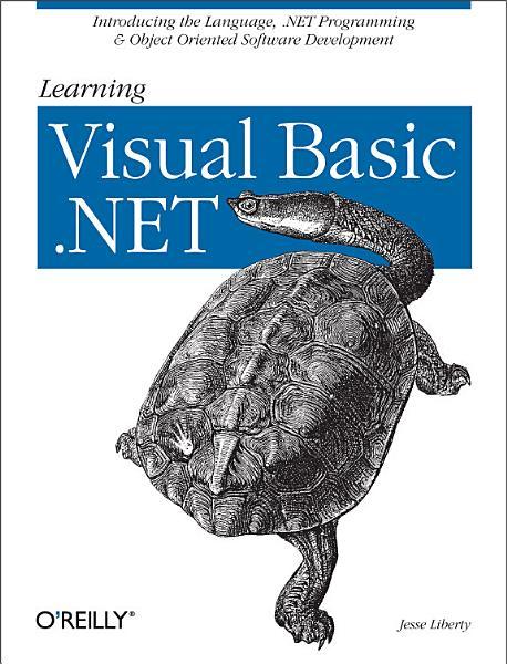 Learning Visual Basic  NET PDF
