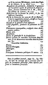 Journal encyclopédique: Volume 8,Partie 1
