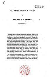 Del Museo egizio di Torino e del Sig. J. J. Ampère
