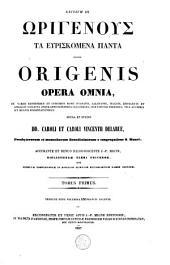Patrologiae cursus completus seu Bibliotheca universalis, integra, uniformis, commoda, oeconomica, omnium ss. Patrum, doctorum scriptorumque ecclesiasticorum sive latinorum, sive graecorum, [...].