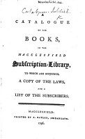 A Catalogue of the Books  etc   Supplement     from 1796 to 1799    PDF