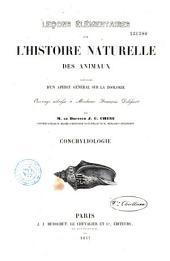 Leçons élémentaires sur l'histoire naturelle des animaux: conchyliologie