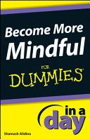 Become More Mindful In A Day For Dummies