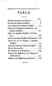 Eloges de Madame Geoffrin: contemporaine de Madame du Deffand