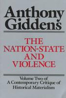 The Nation State and Violence PDF