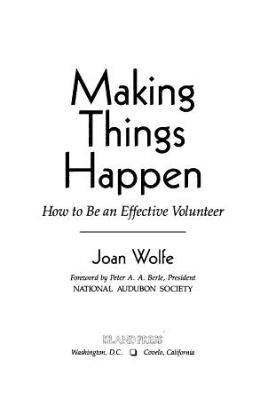 Making Things Happen PDF