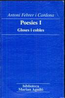 Gloses i cobles PDF