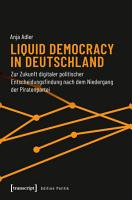 Liquid Democracy in Deutschland PDF