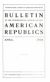 Bulletin of the Pan American Union: Volume 26, Issue 2; Volume 26, Issues 4-6