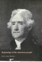 Beginnings of the American people: Volume 2