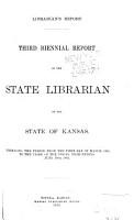 Biennial Report of the State Librarian of the State of Kansas PDF
