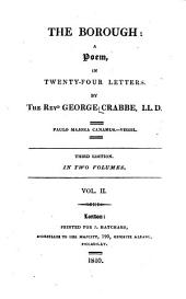 The Borough: A Poem, in Twenty-four Letters, Volume 2