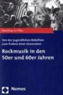 Rockmusik in den 50er und 60er Jahren PDF