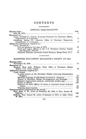 Maritime Education and Training  Miscellaneous