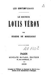 Le docteur Louis Véron