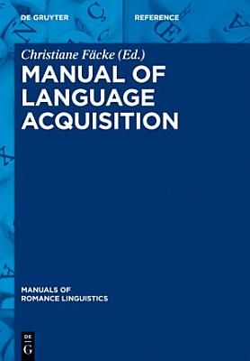 Manual of Language Acquisition PDF