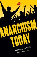 Anarchism Today PDF