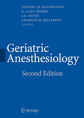 Geriatric Anesthesiology PDF