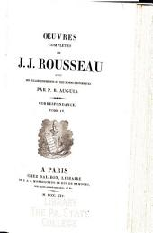 Oeuvres complètes de J. J. Rousseau: avec des éclaircissements et des notes historiques, Volume25
