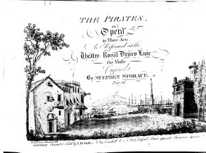 The Pirates  an Opera in Three Acts  Etc   Words by J  Cobb  Vocal Score   PDF