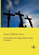 Die Geschichte der heiligen Schriften Alten Testaments PDF