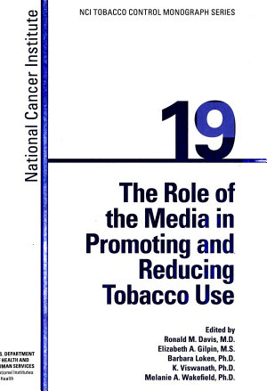 The Role of the Media in Promoting and Reducing Tobacco Use PDF