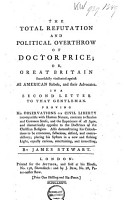 The Total Refutation and Political Overthrow of Doctor Price PDF