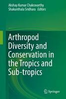 Arthropod Diversity and Conservation in the Tropics and Sub tropics PDF