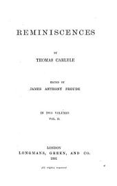 Lord Jeffrey. Jane Welsh Carlyle. Appendix: Southey; Wordsworth