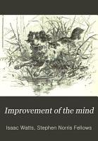 Improvement of the Mind PDF