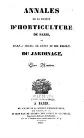 Journal de la Société nationale d'horticulture de France