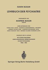 Lehrbuch der Psychiatrie: Ausgabe 10