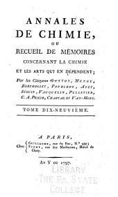 Annales de chimie et de physique: Volumes19à20