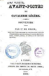 Avant-postes de cavalerie légère souvenirs par F.e de Brack