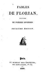 Fables de Florian: suivies de poésies diverses