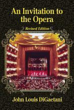 An Invitation to the Opera  Revised Edition PDF