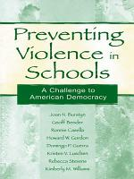 Preventing Violence in Schools