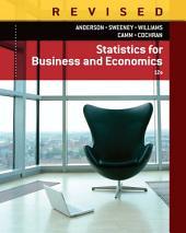 Statistics for Business & Economics, Revised: Edition 12