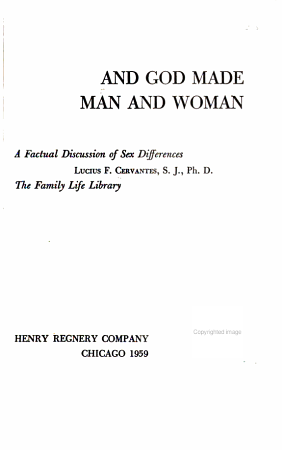 And God Made Man and Woman PDF
