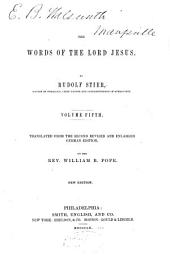 The Words of the Lord Jesus: Volumes 5-6