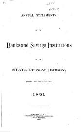 Annual Statements of the Banks and Savings Institutions