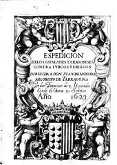 Expedicion de los Catalanes y Aragoneses contra Turcos y Griegos