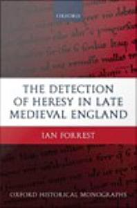 The Detection of Heresy in Late Medieval England PDF