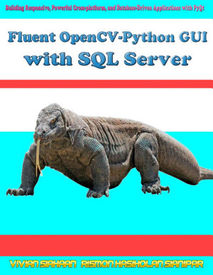Fluent OpenCV Python GUI with SQL Server PDF