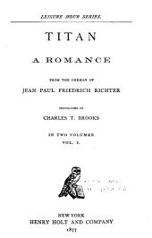 Titan: A Romance, Volume 1