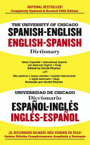The University of Chicago Spanish Dictionary PDF